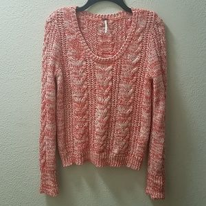 *SALE* Free People Cable Knit Sweater M